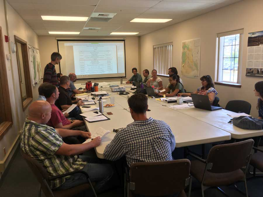 Bull Trout Working Group meeting