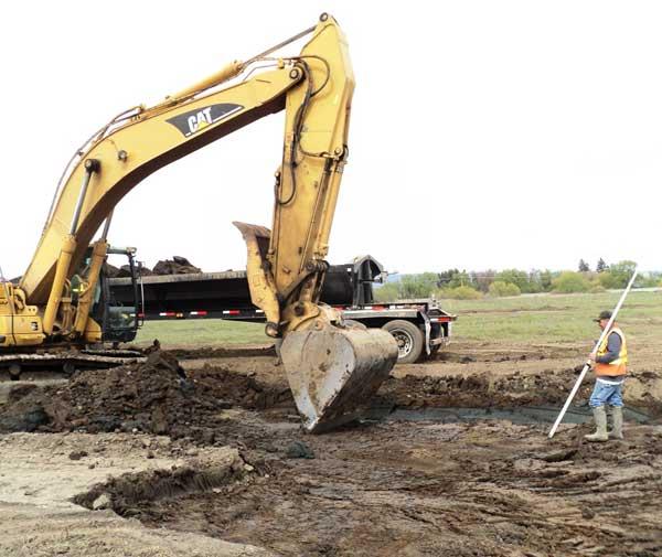 Reecer Creek Excavation