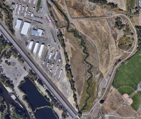 Reecer Creek Aerial View