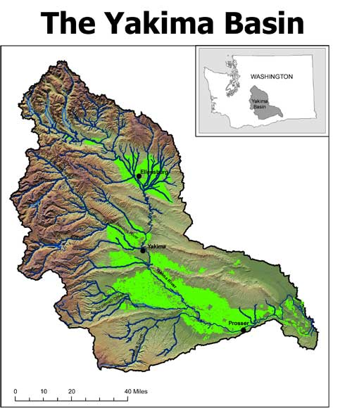 Yakima River Basin Map